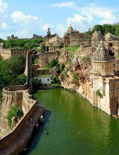 Chittorgarh Fort in Rajasthan (UNESCO World Heritage Site)