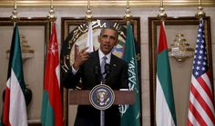 <p>U.S. President Barack Obama speaks following his participation in the summit of the Gulf Cooperation Council (GCC) in Riyadh, Saudi Arabia, April 21, 2016. (Photo: Kevin Lamarque/Reuters)</p>