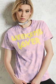 Camiseta Tie-Dye Weekend Lover