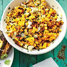 Grilled Mexican Corn Salad