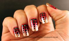 Dotty Gradient Nails.. #MARCtheDOT #DotGirlsCocktailHour #Crowdtap