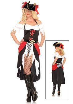 Sexy Pirate Lady Dress