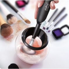 StylPro Makeup Brush Cleaner & Drier : a bit expensive to have shipped to the US from the uk, it will add up to $91