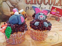 Cupcakes de Páscoa / Easter Cupcakes. www.mahanacupcakes.com