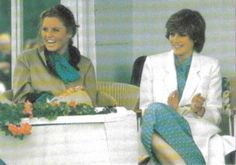 June The Princess of Wales and HRH The Duchess of York (Diana and Fergie)