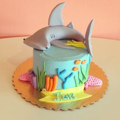Hammerhead Shark Cake / 2tarts Bakery / New Braunfels, TX