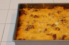 breakfast casserole...I will be making this Saturday!!