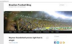 World Cup The view on Brazil World Cup 2018, Neymar, Brazil, Football, Website, Blog, Beautiful, Soccer, Futbol