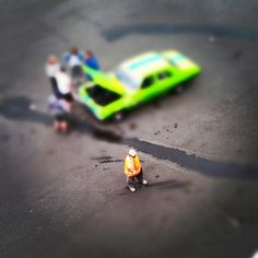 Bathurst Race, tiltshift edit (via Instagram)