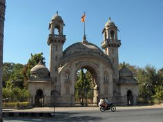 Sayajirao Palace Gates at Vadodara in Gujarat, India