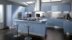 Moderne Kochinsel der Küche Tess von Scavolini