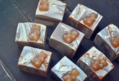 #bubblelove from @mamabasshandmadesoap -  Mama Bass now offers slabs of guest sized soap wedding or shower favors! #goodmorning #soap #soapmaking #soapshare #etsy #handmade #artisan #wedding #favors #weddingfavors #shower #gifts #mamabass #soapismydope #4theloveofbubbles