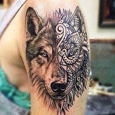 UPS!   #tatuaje #tattoo #lobo #wolf #lealtad #loyalty #fuerza #poder #astucia #valentía  #coraje #resistencia   #force #strength #power #cunning #courage #resistance