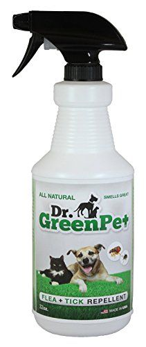 Dr Dry Green Pet All Natural Flea and Tick Spray, 32 oz * Details can be found at http://www.amazon.com/gp/product/B0128J9FLK/?tag=lizloveshoes-20&pkl=290716042220