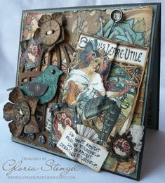 Scraps of Life: Graphic45 2011 Design Team Call Submissions