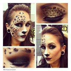 spider woman makeup for halloween | Trucco Halloween: tante idee ...