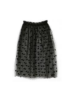 Dot Dot See-through Skirt