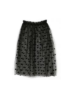 Dot Dot See-through Skirt