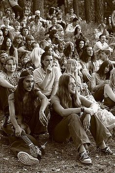 Me:  this looks about like the first Rainbow Gathering in CO in 1972   (repinning this: Oh my god this is beautiful...look at all of the men with long hair in this)