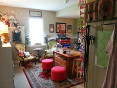 Twigs and Tulle: Where Bloggers Create 2014: My Crafty Nook