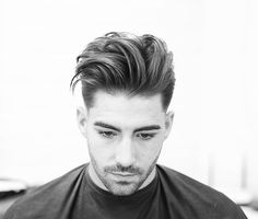 Long Textured Quiff Haircut + Low Fade - Best Men's Textured Haircuts - Cool Textured Hairstyles For Men + Textured Hair For Guys New Men Hairstyles, Quiff Hairstyles, Cool Mens Haircuts, Modern Hairstyles, Textured Hairstyles, Men's Haircuts, Pompadour Hairstyle, Asian Hairstyles, Undercut Pompadour