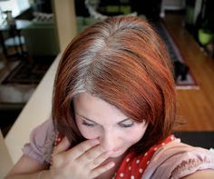 How Bourgeois: 50 Shades of Gray.....Hair.  This is an awesome blog with product names for making grey hair shiny and getting rid of the yellow.  Plus a good honest story of how she felt during the process of growing it out.