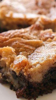 Peanut Butter Chocolate Gooey Butter Cake Recipe