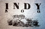 Vintage look Indy 500 t-shirt. #Indy500