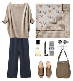 Film festival by terezah on Polyvore featuring Uniqlo, H&M, Tiffany & Co., Tissot, Chanel and Hermès