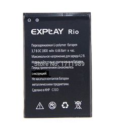1800mAh Li-ion Original Rechargeable Replacement Battery For EXPLAY RIO Batterie Bateria Batterij Free Shipping + Tracking Cord #clothing,#shoes,#jewelry,#women,#men,#hats,#watches,#belts,#fashion,#style