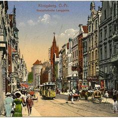 Kneiphofische Langgasse, Königsberg, 1910                              …