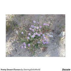 Pretty Desert Flowers Card