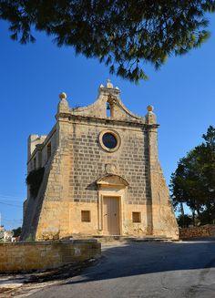Chapel of the Annunciation in Salini in Malta