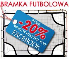 """Tylko do końca lipca specjalny rabat w sklepfitness.com! W koszyku wpisz kod rabatowy: """"FACEBOOK"""". Otrzymasz 20% ZNIŻKĘ na BESTSELLER lata - Bramkę Futbolową marki Solex! http://www.sklepfitness.com/p/36/442/bramka-futbolowa-team-44506--inne-sporty-letnie-.html SklepFitness.com"""