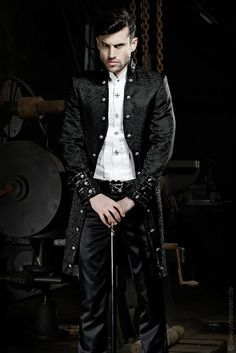 goth wedding tuxedo - Google Search