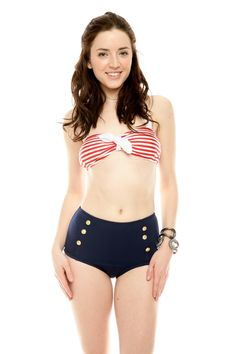 Sailor Bikini... LOVE this! <3