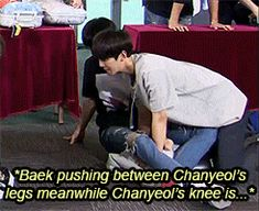 And we all forgot that baekhyunnies's right hand is the place where little chanyeols gets rubbed. ○_○