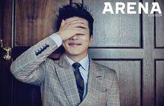 Kwon Sang Woo - Arena Homme Plus Magazine February Issue '15