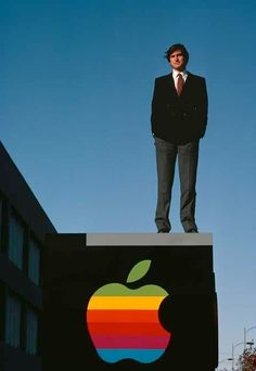 """Steve Jobs"" (1982) by Diana Walker, National Portrait Gallery, Smithsonian Institution ♥"
