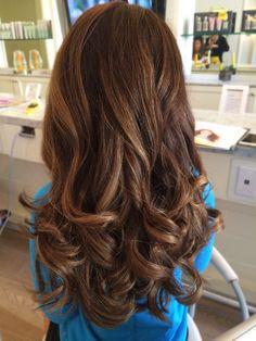 Cosmo-Tai I did at Drybar #cosmotai #cosmo-tai #drybar #waves #curls…