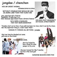 Beginners guide EXO's Chen ♡
