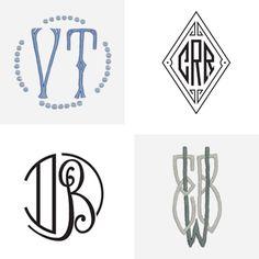 Julia B. Custom Monograms