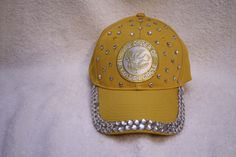 Order of The Golden Circle rhinestone embellished adjustable ball caps
