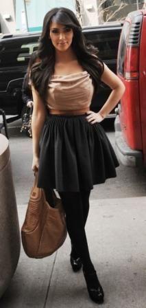 Kim Kardashian Fashion and Style - Kim Kardashian Dress, Clothes, Hairstyle - Page 141