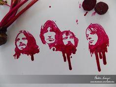 Pink Fluid (beet juice)  For more works, visit my facebook page: www.facebook.com/nadienska