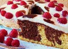 Torta s kyslou smotanou (fotorecept) - recept Tiramisu, Cake Recipes, Cheesecake, Treats, Ethnic Recipes, Sweet, Desserts, Food, Cakes