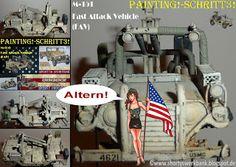 Shortys Werkbank: Workbench-M-151 Fast Attack Vehicle-Painting!-Schr...