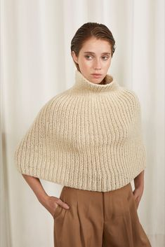 Look 16 // Womenswear Fall Winter 2019 Turn Blue, Aboriginal People, London College Of Fashion, Ethical Fashion Brands, Clothing Labels, Sustainable Fashion, Hand Knitting, Knitwear, Wildlife