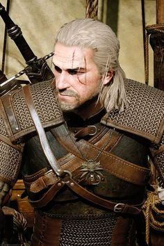 The witcher Geralt cosplay by Maul cosplay #thewicher #geraltcosplay #cosplayclass