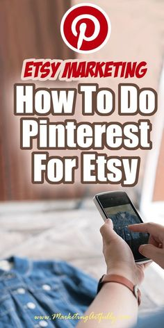 Doing Pinterest For Etsy Sellers…. There are so many parts of doing Pinterest for Etsy sellers! Here are all my tips and ideas for adding this awesome social media channel to your Etsy small business. #etsyshop #etsyseller #pinterest